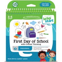 LeapFrog LeapStart Level 2 First Day of School Activity Book