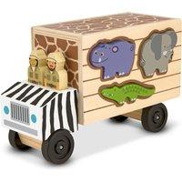 Melissa & Doug Safari Animal Rescue Truck