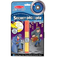 Melissa & Doug Secret Decoder Game Book - Book Gifts