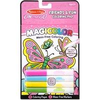 Melissa & Doug Friendship & Fun Coloring Pad - Fun Gifts