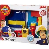 Fireman Sam Utility Belt With Jacket & Accessories - Belt Gifts