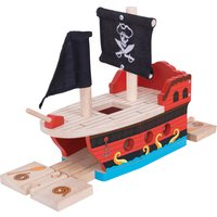 Bigjigs Rail Pirate Galleon - Hamleys Gifts