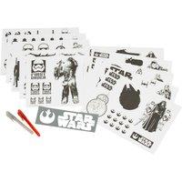 Star Wars The Force Awakens Glow Sticker Kit
