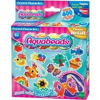 'Aqua Beads Glitter Charm Set