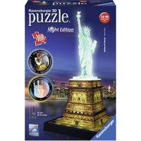 Ravensburger Statue of Liberty 108pc 3D Night Edition Jigsaw - Jigsaw Gifts