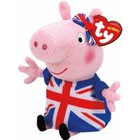TY Peppa Pig Union Jack Beanie Baby