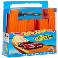 Hot Wheels Track Builder 15' Of Track With Car - Track Gifts