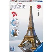Ravensburger Eiffel Tower Building 216 Piece 3D Puzzle - Building Gifts