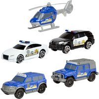 Driving Force 5-Piece Police Vehicle Set - Police Gifts