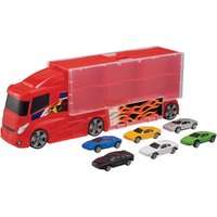 Driving Force Car Transporter & 6 Cars