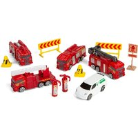 Driving Force Emergency Vehicle Playset - Driving Gifts