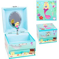 Luvley Summer Mermaid Small Music Box