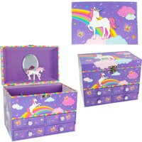 Luvley Colour My Rainbow Medium Lilac Music Box - Colour Gifts