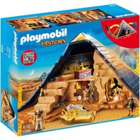 Playmobil History Egyptian Pharaoh's Pyramid 5386 - Playmobil Gifts