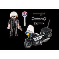 Playmobil City Action Collectable Police Carry Case 5648 - Police Gifts