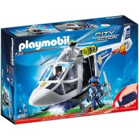 Playmobil Police Helicopter With LED Searchlight 6921 - Police Gifts