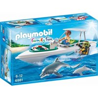 Playmobil Family Diving Trip with Floating Speedboat 6981 - Diving Gifts