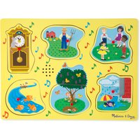 Melissa & Doug Sing Along Nursery Rhymes Sound Puzzle - Nursery Gifts