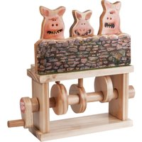 Timberkits Three Pigs Aardman Automata Kit - Pigs Gifts