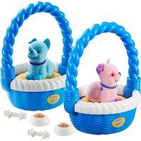 Sweet Talkin Friends Puppy In A Basket Assortment - Puppy Gifts