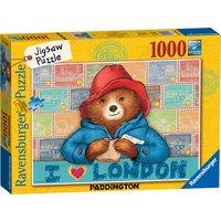 Ravensburger Paddington Bear 1000 Piece Puzzle