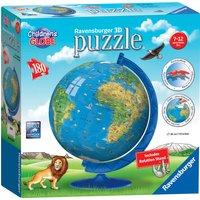 Ravensburger Children's World Globe 180 Piece 3D Puzzle - Ravensburger Gifts