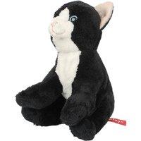 Hamleys 6-Inch Black & White Cat Soft Toy - Hamleys Gifts