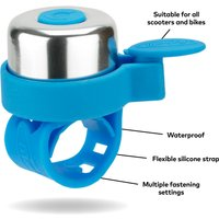 Click to view product details and reviews for Micro Scooter Bell Neon Blue.
