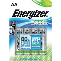 Energizer Eco Advanced AA Batteries 4-Pack - Eco Gifts
