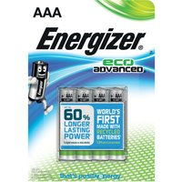 Energizer Eco Advanced AAA Batteries 4 Pack - Eco Gifts