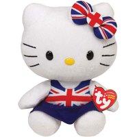 TY Hello Kitty Union Jack Beanie
