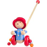 Paddington Bear Push Along With Box