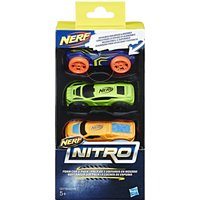 Nerf Nitro Foam Car 3-Pack Assortment