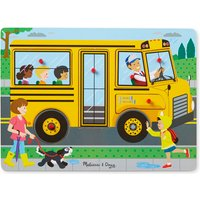Melissa & Doug The Wheels On The Bus Sound Puzzle - Puzzle Gifts