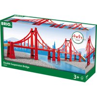 BRIO World Double Suspension Bridge