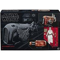 Star Wars The Black Series Rey's Speeder & Figure