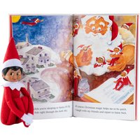 Elf On The Shelf Girl With Brown Eyes - Girl Gifts