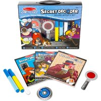 Melissa & Doug Secret Decoder Deluxe Activity Kit - Hamleys Gifts