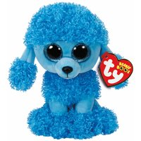 TY Mandy Blue Poodle Beanie Boos