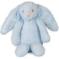 Jellycat Bashful Blue Bunny Rattle Soft Toy
