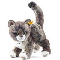 Steiff 25cm Grey & Beige Kitty Cat Soft Toy