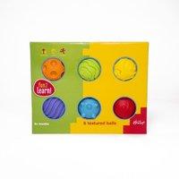 Fun 2 Learn 6 Textured Balls