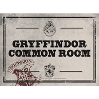 Harry Potter Common Room Small Tin Sign