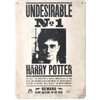 Harry Potter Undesirable No. 1 Small Tin Sign