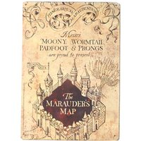 Harry Potter Marauders Map Small Tin Sign