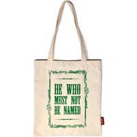 Harry Potter Voldemort Tote Shopper Bag