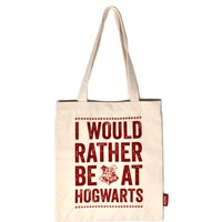 Harry Potter Hogwarts Slogan Tote Shopper Bag
