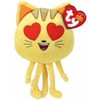 TY Cat Heart Eye Emoji Beanies