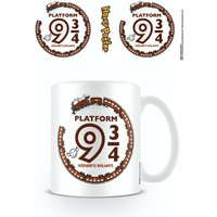 Harry Potter Kawaii Platform 9 3/4 Mug