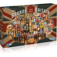 Gibsons The Brands That Built Britain 1000 Piece Puzzle - Brands Gifts